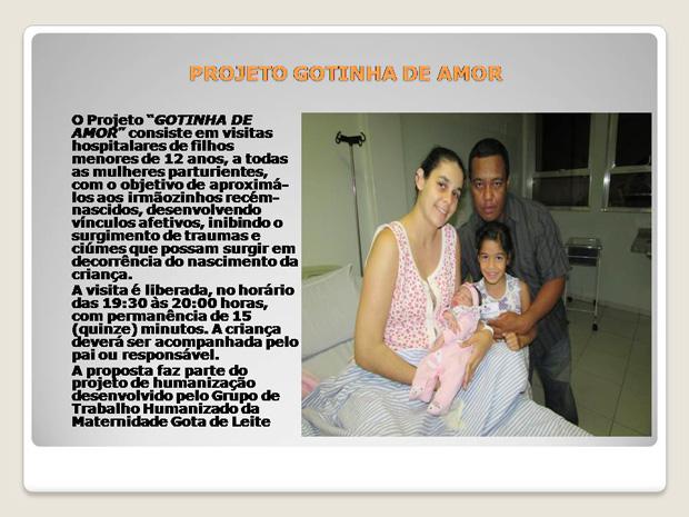 16 PROJETO GOTINHA DE AMOR